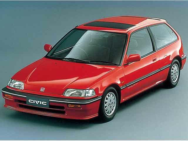 ホンダ シビック 1987年9月~1991年8月生産モデルのカタログ|中古車なら【カーセンサーnet】