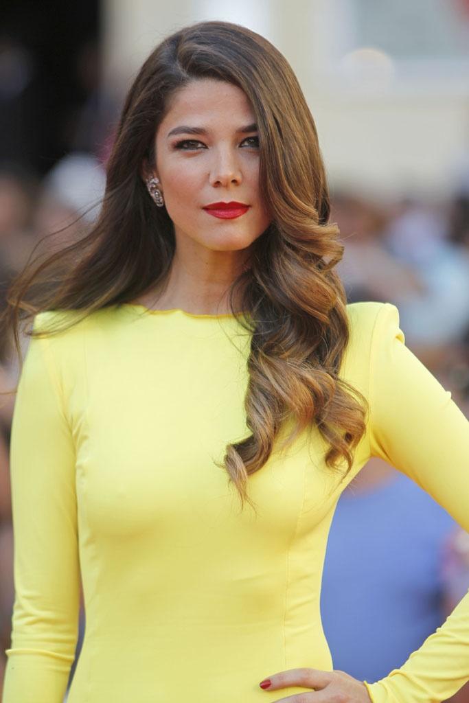 Juana Acosta en el Festival de Cine de Málaga 2013