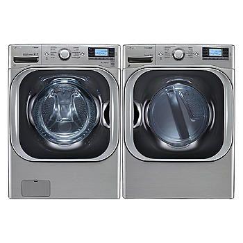 LG 5.2 cu. ft. Mega Capacity Turbowash™ Washer & Dryer Bundle - Appliances - Washer and Dryer Sets - Washer and Dryer Bundles