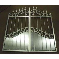 Wrought Iron Driveway Gate. Customize Realisations. 063