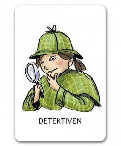 Detektiven reder ut oklarheter, nya ord och uttryck. Strategin används under läsningen och innebär att läsaren: Läser om ordet. Läser om meningen. Läser om stycket för att få ordet i ett sammanhang. Funderar på om ordet liknar ett ord på svenska eller ett annat språk som läsaren redan kan. Funderar på om ordet är sammansatt av flera ord. Funderar på vad det är för sorts ord (substantiv, adjektiv, verb) Användersina förkunskaper i ämnet. Slår upp ordet eller frågar någon vad det kan betyda.