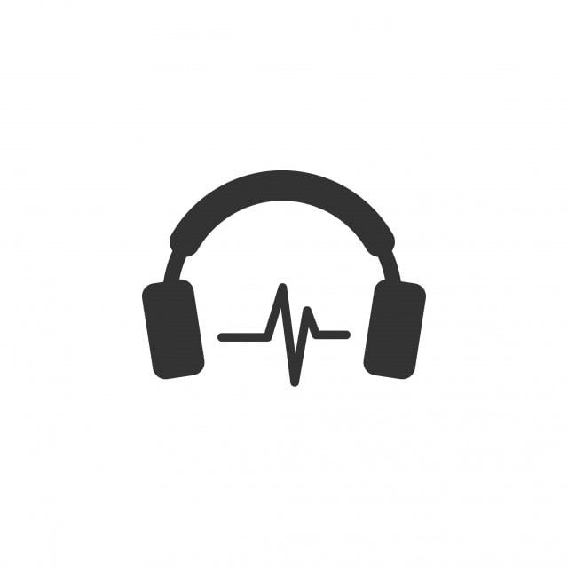 Headphone Icon Design Template Vector Template Icons Design Icon Png And Vector With Transparent Background For Free Download Icon Design Dj Logo Design Template
