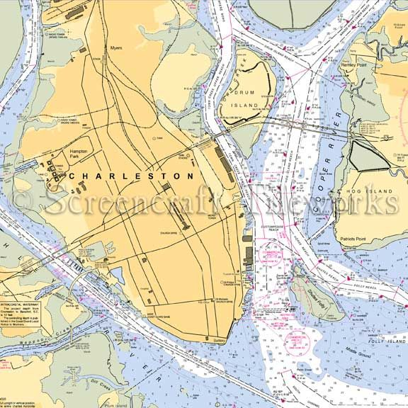 South Carolina Home Decor South Carolina Art Columbia Sc: Nautical Charts Images On Pinterest