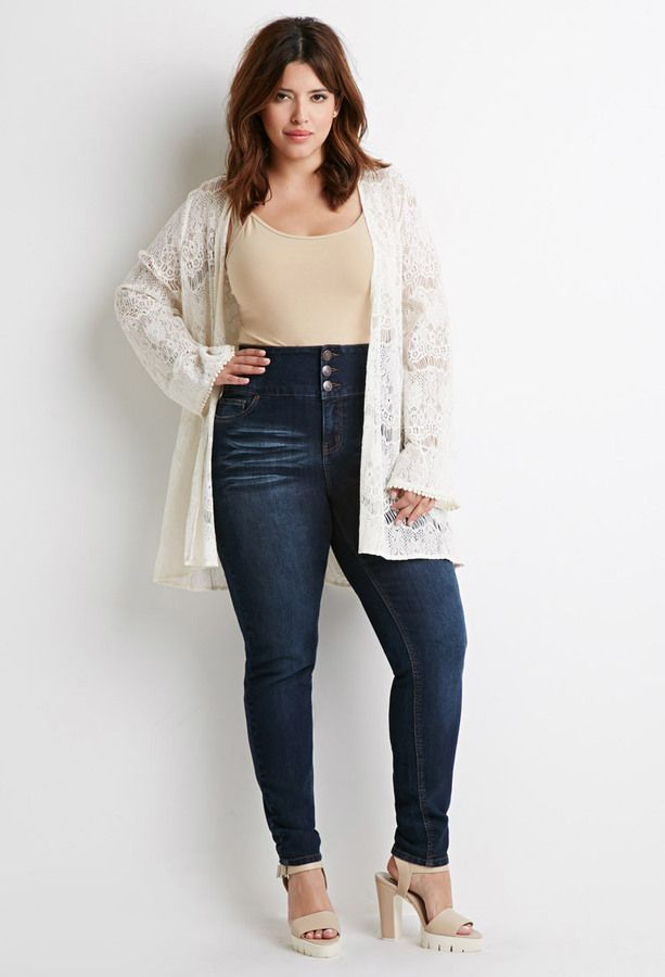 210 best images about Plus Size High Waisted Jeans on Pinterest ...
