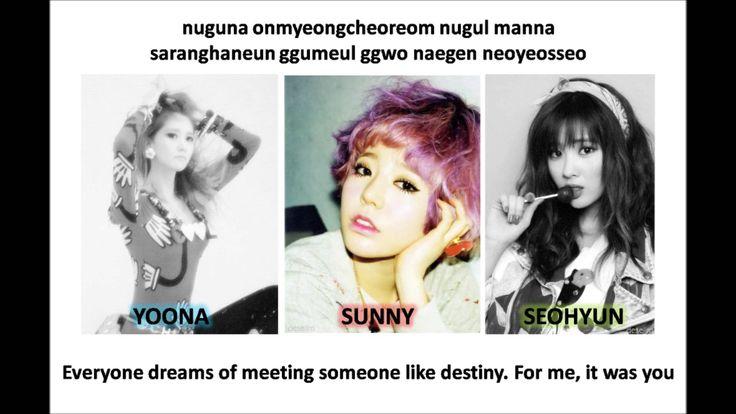 SNSD Girls' Generation - Romantic Street (lyrics & eng sub)