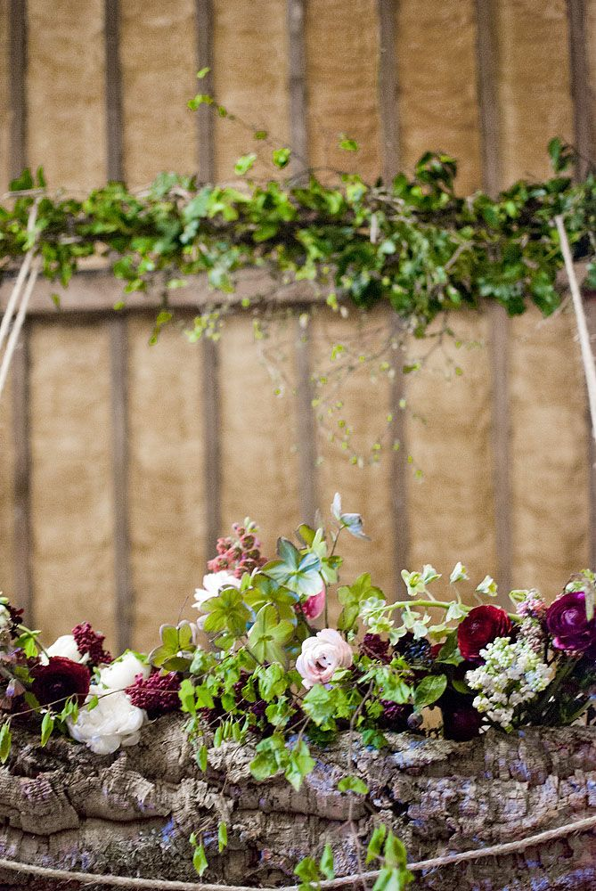 Hanging Centrepiece by The Informal Florist