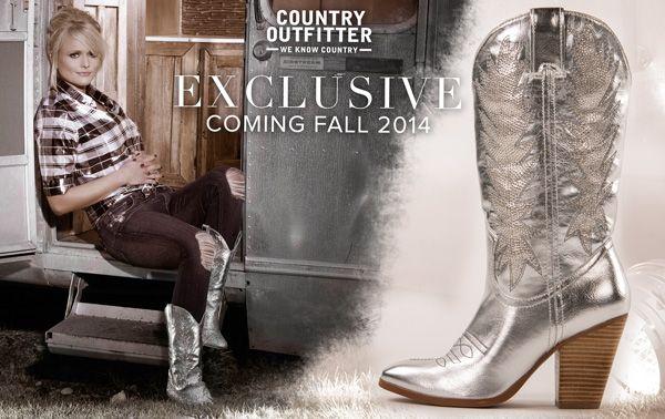 Get the Look: Miranda Lambert | http://www.countryoutfitter.com/style/get-look-miranda-lambert/