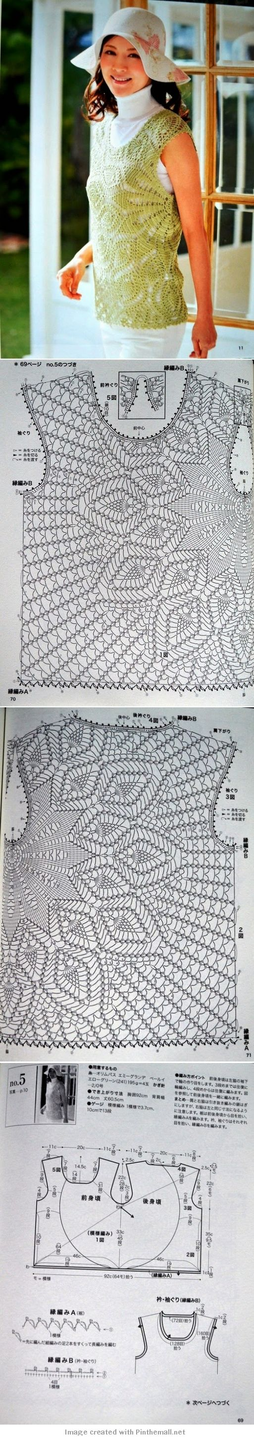 1560 best crochet .-. gráficos - diagramas .-. images on Pinterest ...