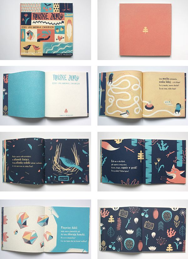 Picture book for children on Behance
