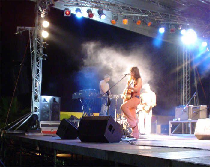 Intervista a Paola Turci prima del concerto al Palermo Fest 2003 - 20/06/2003