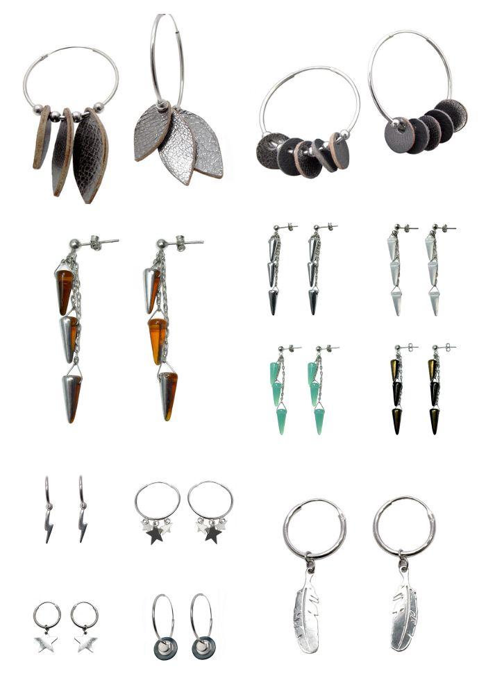 Boucles d'oreilles Argent 925, les dernières créations...★!  http://www.llulecreations.com/