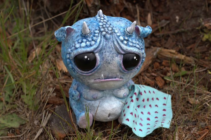 GURUMI  ***OOAK polymer clay figurine signed by LARA HJORTHOY***  Now available for purchase at YourToy Creations: https://www.etsy.com/shop/yourtoycreations