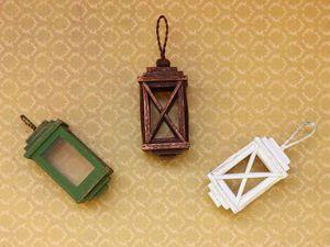 Видео мастер-класс: как сделать миниатюрный фонарик   Ярмарка Мастеров - ручная работа, handmade