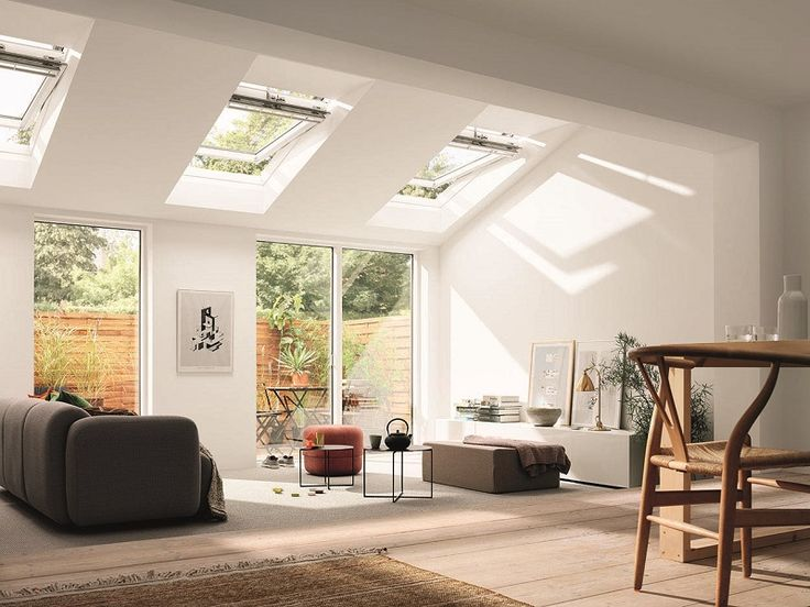 VELUX roof windows can bring in twice the amount of daylight to an extension as vertical & Best 25+ Velux window sizes ideas on Pinterest | Velux skylight ... memphite.com