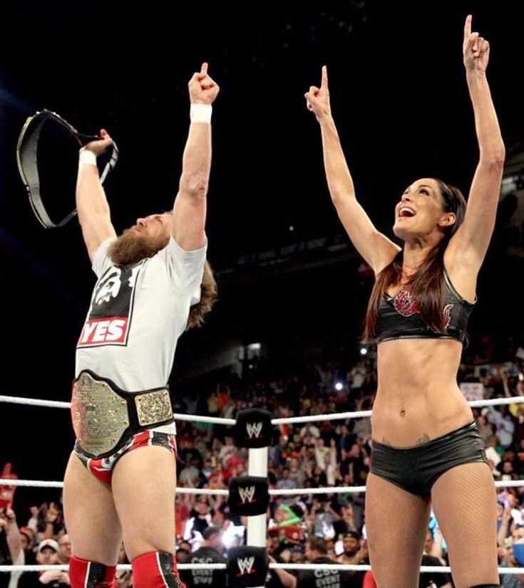 WWE Daniel Bryan & Brie Bella