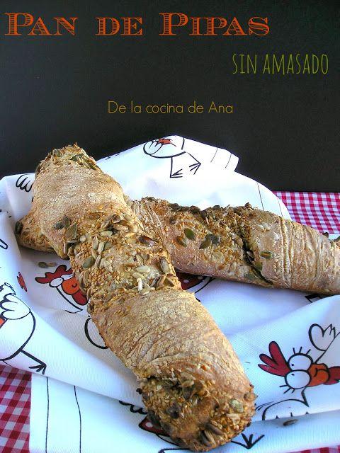 Pan de Pipas sin Amasado