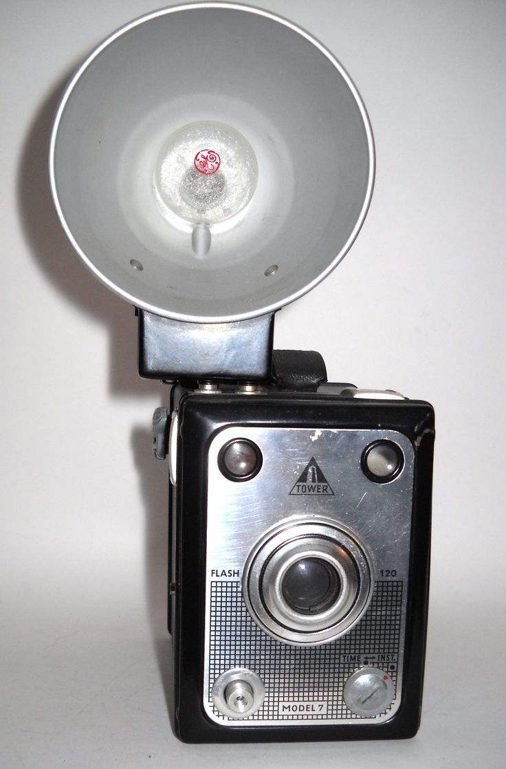 TOWER FLASH 120 MODEL 7 BOX CAMERA~ART DECO BLACK http://stores.ebay.com/CameraCollectorPlus?_rdc=1