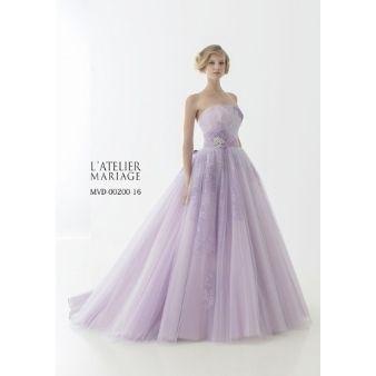 画像 : 【着たいドレスがきっと見つかる】カラードレス全デザイン集【完全版】 - NAVER まとめ