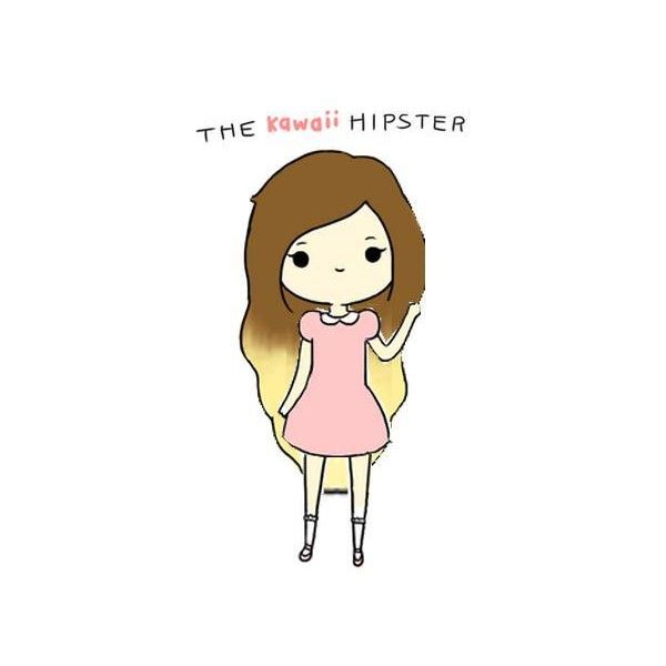 The Kawaii Hipster | Made by @Elaine P found on Polyvore