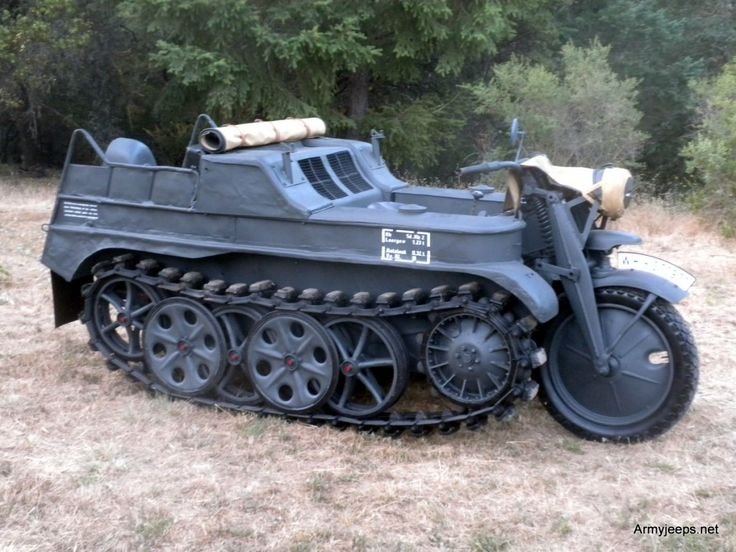 German Kettenkrad for sale priced at $135,000