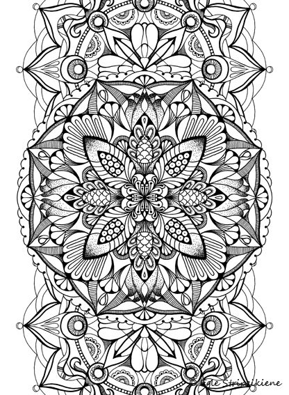 Flower Abstract Coloring Pages : 305 best floral flower coloring pages images on pinterest