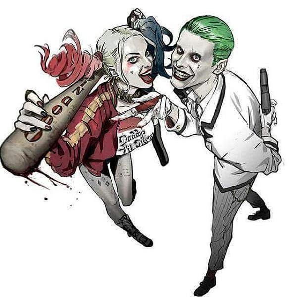 The Suicide Squad: Una supuesta foto promocional del Joker y Harley Quinn | SALONDELMAL