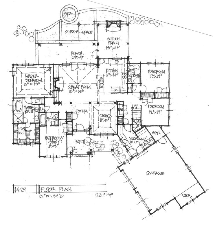 84 best addition ideas images on pinterest architecture for House plans with future additions