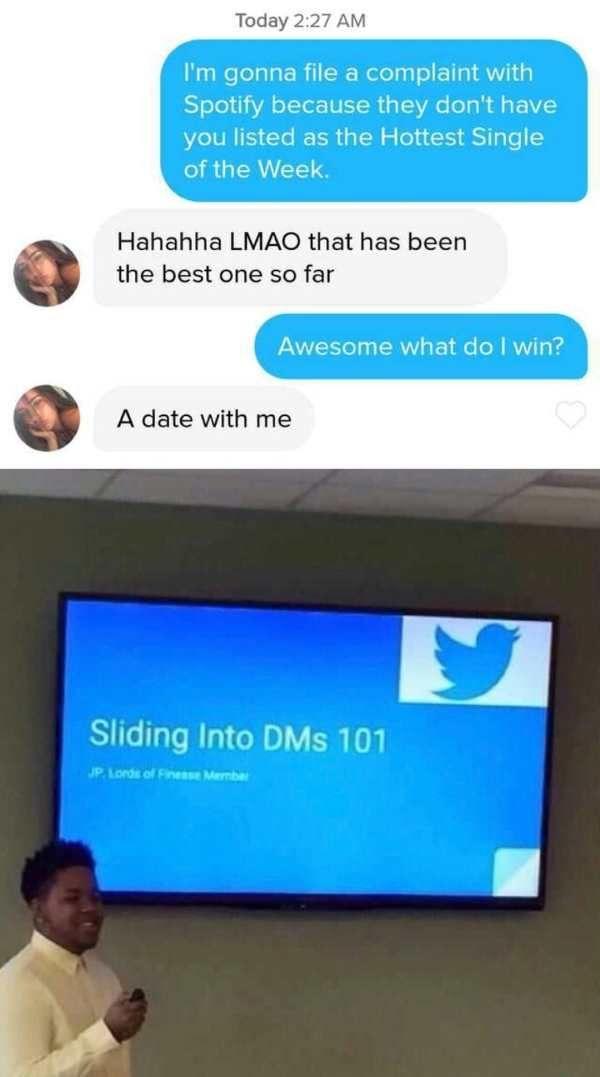 Cheesy dating pick-up lijnen