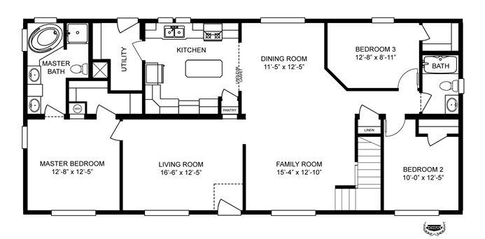 oakwood home floor plans 4