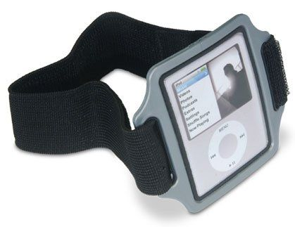 Griffin Streamline Sports Armband Case for Ipod Nano 3rd Generation. Reflective trim increases nighttime visibility. One-piece frame and screen cover protects your iPod from scratches and dust. Screen protector does not interfere with navigation or use of click wheel. Low-profile design keeps your iPod nano close at hand, without being in the way. Super lightweight, weights only 2 oz.