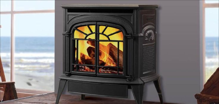 Intrepid Direct Vent Gas Stoves by Vermont Castings. Smaller in size but rich in cast iron detail, the Intrepid® direct vent stove delivers reliable and efficient heat that will take the chill out of any room.
