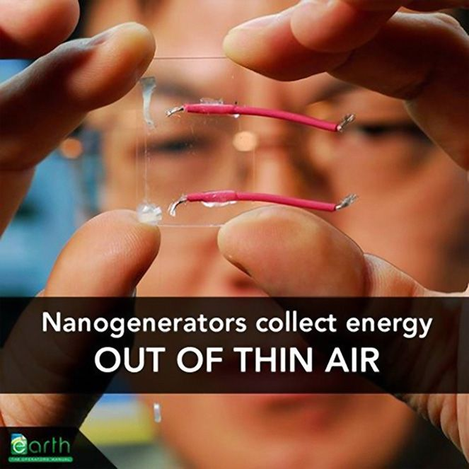 Electricity from thin air: Using nanotechnology to capture the energy around us
