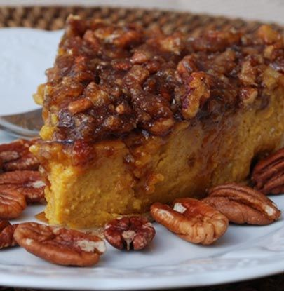 Pumpkin Pecan Praline Pie | Simple Dish | Quick, Easy, & Healthy ...