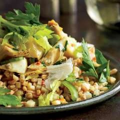 Can't wait to make this Farro with artichokes & herb salad by @ ...