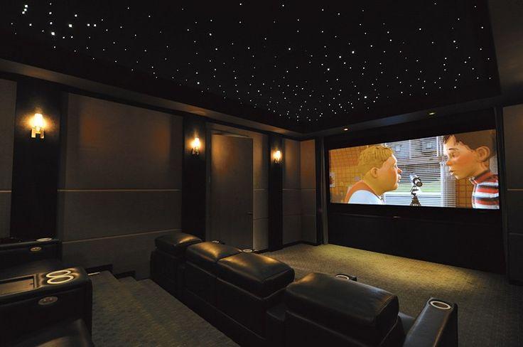 Basement theatre with star ceiling basement ideas pinterest - Basement theater ideas ...