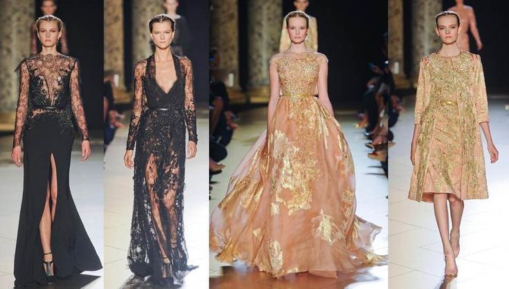 Elie Saab: Bordados brillos y encajes de Red Carpet