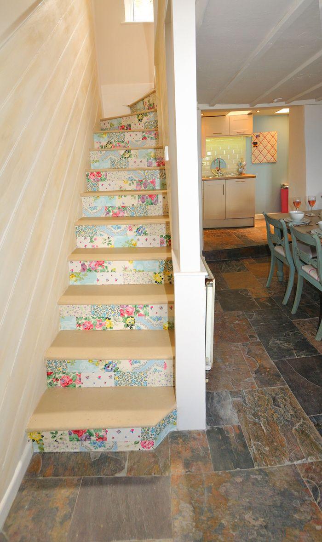 1001 Idees Pour Realiser Une Deco Montee D Escalier Originale Deco Escalier Escalier Escalier Etroit