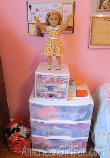 Superior Doll Clothing Storage
