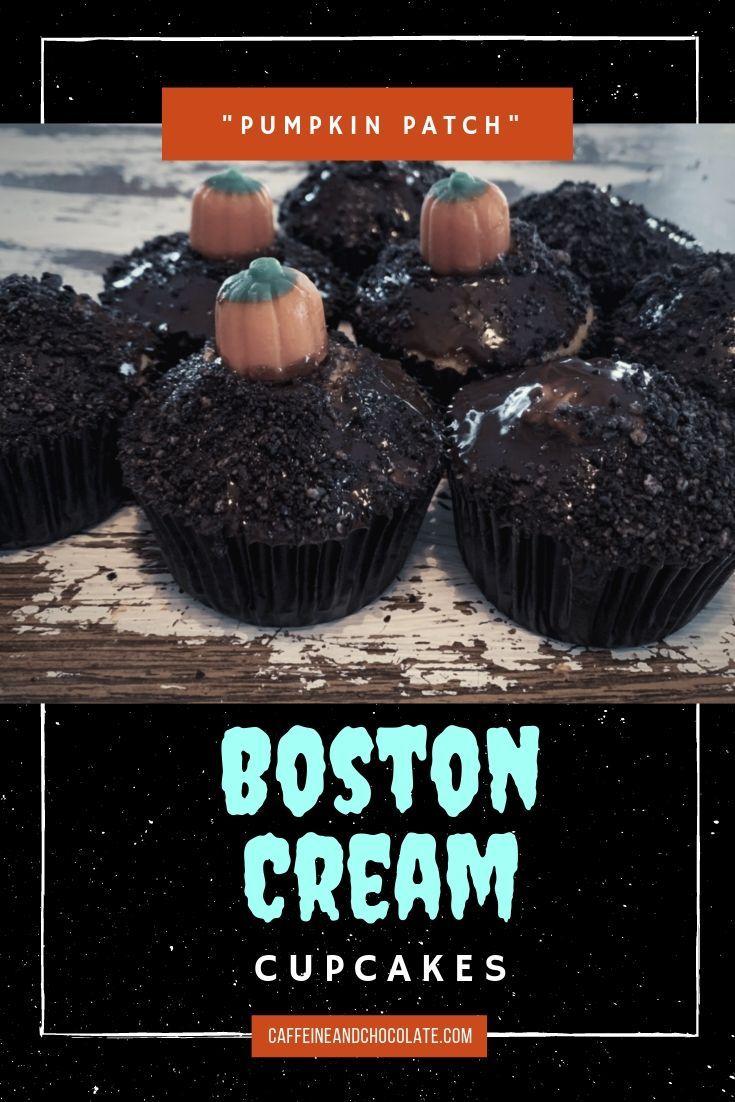 Boston Cream Cupcakes Boston cream, Boston cream