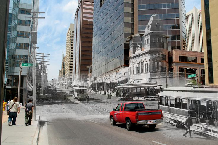 17 Best Images About Phoenix Then And Now Photos On