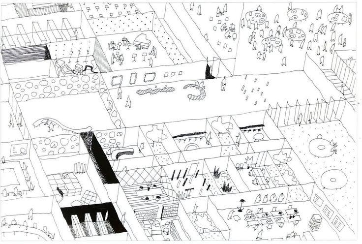 SANAA: sketch from 'Kazuyo Sejima + Ryue Nishizawa/Sanaa: Works 1995-2003'