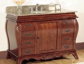 bathroom vanities and sink consoles page 94 - Vintage Bathroom Vanity