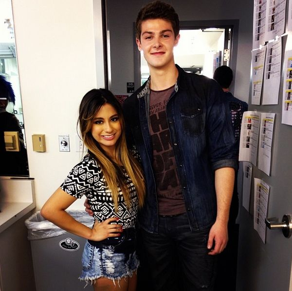 Ally Brooke and Zach Beeken at the X factor | Fifth ...
