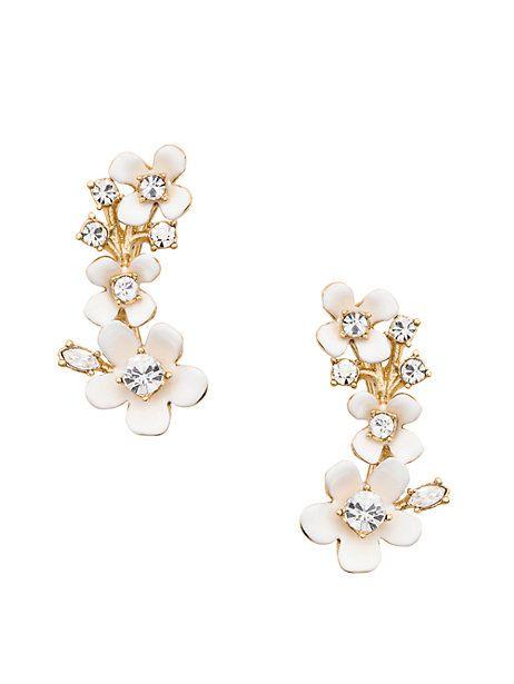 Kate Spade Pretty Petals Ear Pin