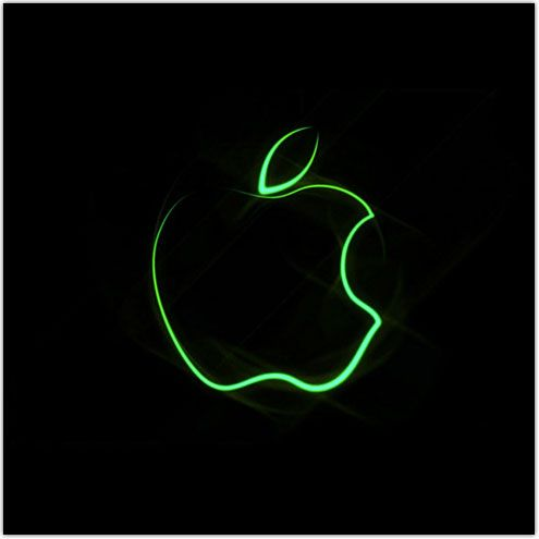 Apple Green Apple Logo Bing images Moving wallpapers