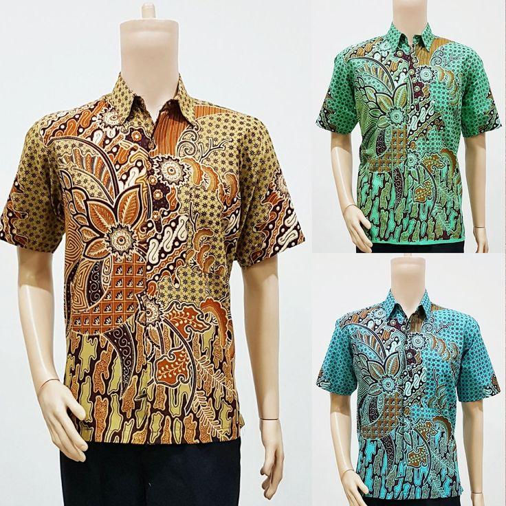 Model Baju Batik Pria Untuk Seragam Motif Minu 2019