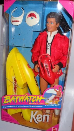 Barbie 1994 Baywatch TV Show Ken Doll. Starting at $1