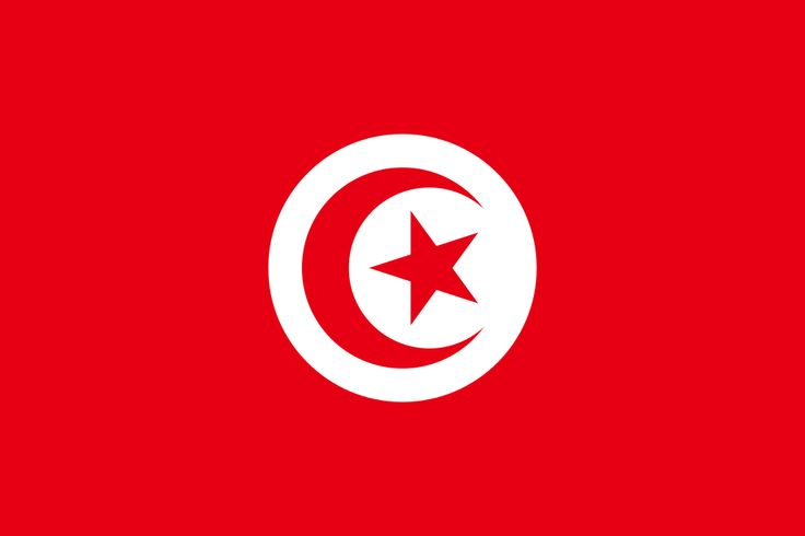 Flag of Tunisia - Tunisia - Wikipedia, the free encyclopedia