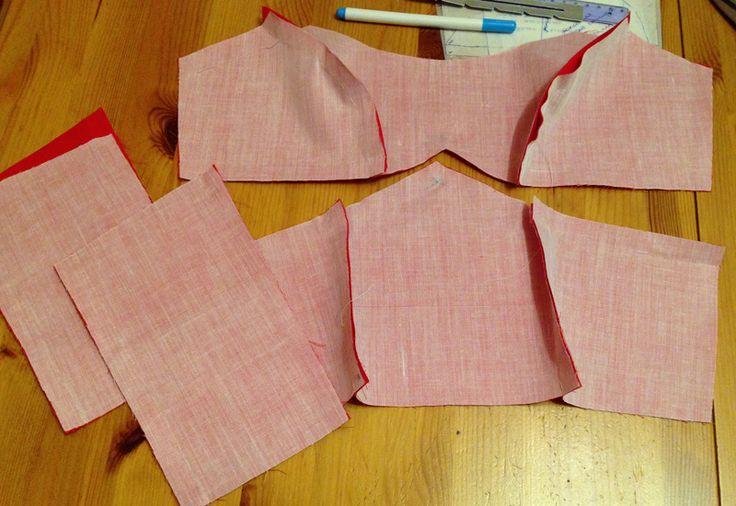 Как укрепить лиф платья без использования корсетных палочек