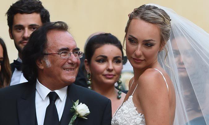 Al Bano Y Romina Power Celebran La Boda De Su Hija Cristel Con Un